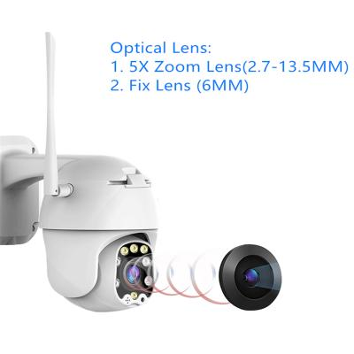 outdoor dome ptz wifi camera