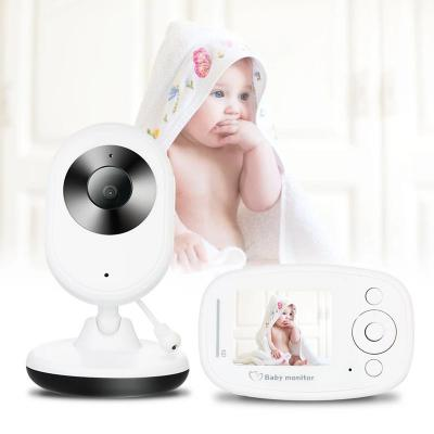 Wifi wireless 2.4 inch LED display smart baby security camera